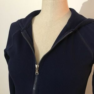 Lauren Ralph Lauren active - Blue zipped cardigan
